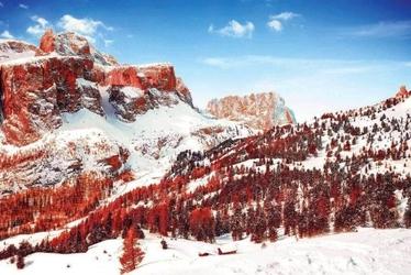 Red mountain - plakat