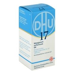 Biochemie dhu 17 manganum sulfuricum d6 tabletki