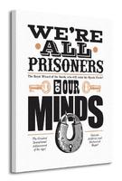 Asintended prisoners of our minds - obraz na płótnie