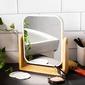 Lusterko łazienkowe prostokątne altom design białe