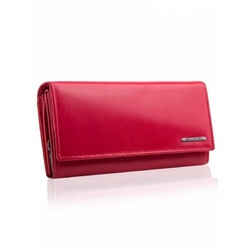 Damski portfel betlewski bpd-vtc-12 czerwony