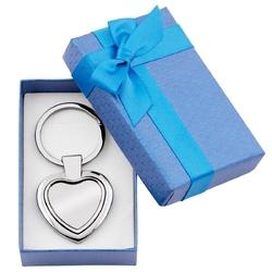 Brelok serce dla niej prezent na walentynki urodziny z grawerem
