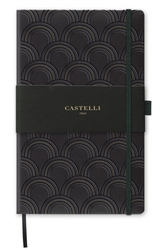 Notes castelli milano - copper  gold art deco gold