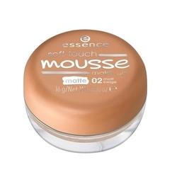 Soft touche mousse make-up podkład matujący w musie 02 matt beige 16g