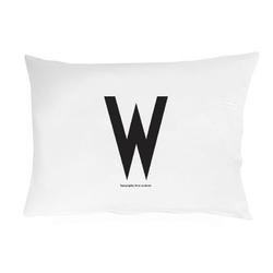 Poszewka na poduszkę Arne Jacobsens Vintage ABC litera W