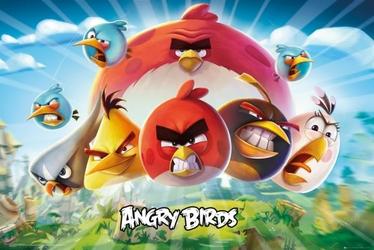 Angry Birds - plakat