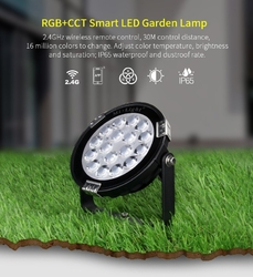 Naświetlacz  halogen LED MILIGHT - 9W RGB+CCT LED Garden Light - FUTC02