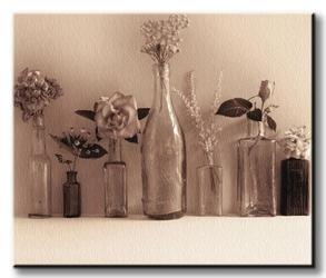 Flower collection - obraz na płótnie