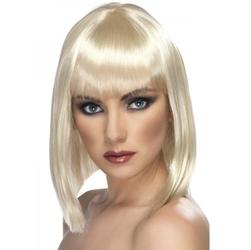 Peruka glam blond