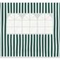 Ścianka 2 szt. 298190 cm, z oknem do pawilonu 3x3, zielono-białe