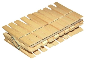York, drewniane klamerki , spinacze do prania,  20 sztuk