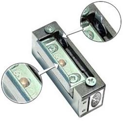 Zaczep elektra r4 z pamięcią z blokadą symetryczny 24v - możliwość montażu - zadzwoń: 34 333 57 04 - 37 sklepów w całej polsce
