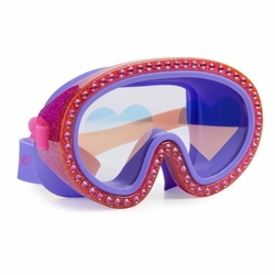 Maska do pływania Malinowe Serca, Bling2O