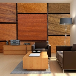 Fototapeta - drewniane kostki