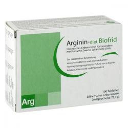 Arginin-diet biofrid tabletten