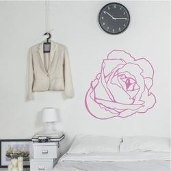 Szablon na ścianę kwiat 2082