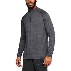 Koszulka męska under armour tech 14 zip - czarny