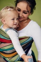 Karuzela barw - chusta do noszenia dzieci tkana m