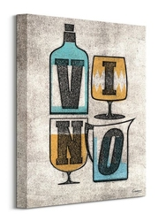 Vino - obraz na płótnie
