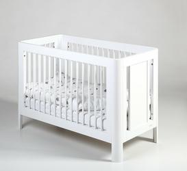 Troll, Sun białe łóżeczko dziecięce 120x60