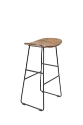 Orange line stołek barowy niski tangle naturalny 1500074