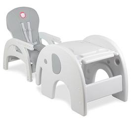 Lionelo Eli Grey Krzesełko do karmienia 5w1
