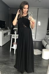Eva  lola sukienka czarny 44006-1