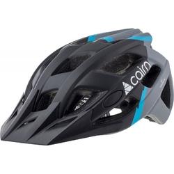 Kask rowerowy cairn basalt - czarno-niebieski
