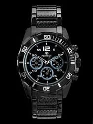Męski zegarek PERFECT - BOND - black zp110b