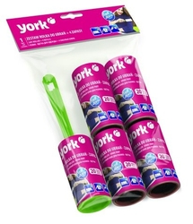 York, rolka do ubrań z 4 zapasami zestaw