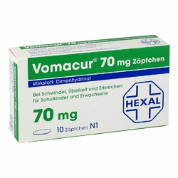 Vomacur 70 Suppos.