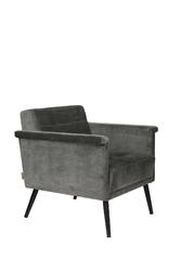 Dutchbone fotel lounge sir william vintage szary 3100095