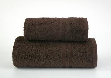 Ręcznik junak new frotex brązowy - brązowy