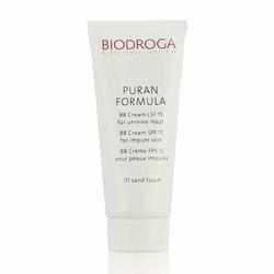 biodroga institut bb cream spf 15 for impure skin krem bb spf 15 do skóry zanieczyszczonej 40 ml sand