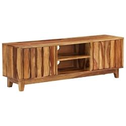 Vidaxl szafka pod telewizor, lite drewno sheesham, 118 x 30 x 40 cm