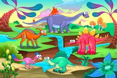 Fototapeta dla dzieci dinozaury 1393