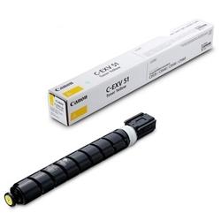Toner oryginalny canon c-exv51l y 0487c002 żółty - darmowa dostawa w 24h