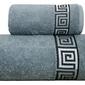 Ręcznik bawełniany dunaj frotex popielaty 70 x 140