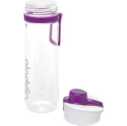 Butelka z kontrolą wypitej wody 0,8 litra active hydration aladdin fioletowa 10-02671-006