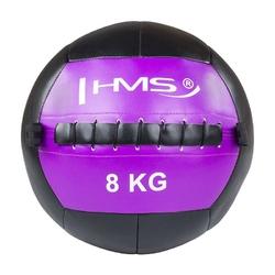 Piłka do ćwiczeń wall ball wlb8 8 kg - hms - 8 kg