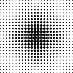 Tapeta ścienna tło czarne kropki półtonów