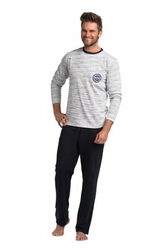 Rossli sam-py-064 piżama męska