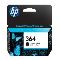 HP 364 oryginalny wkład atramentowy czarny