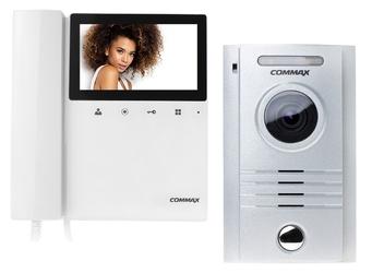 Wideodomofon zestaw commax drc-40kpt + cdv-43k