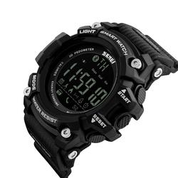 SPORTOWY zegarek SKMEI 1227 BLUETOOTH black - BLACK