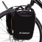 Sakwy rowerowe crosso dry small 30l - click system - czarne