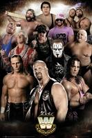 WWE Legends - plakat sportowy