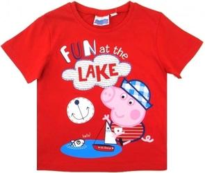 Koszulka  fun at the lake czerwona 8 lat