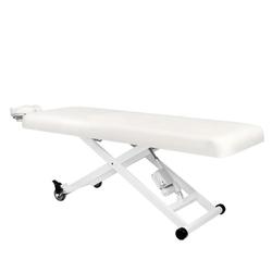 Leżanka elektr. do masażu azzurro 336 1siln. biała