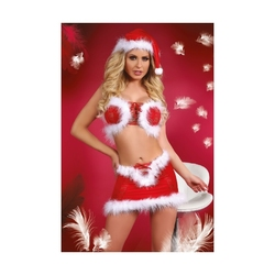 Ekskluzywny świąteczny kostium pani mikołajowej